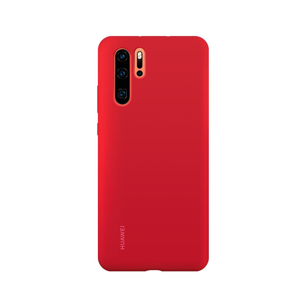 HUAWEI Silicone P30 Pro tok, piros