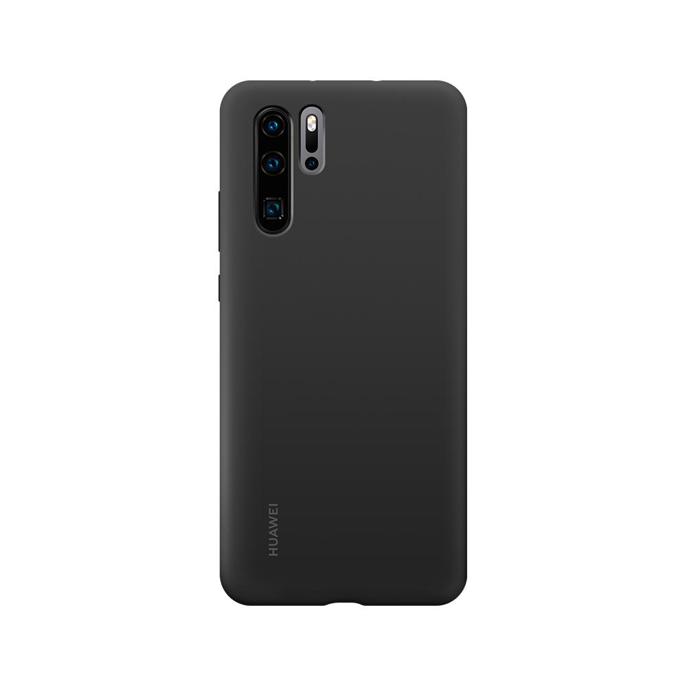 HUAWEI P30 Pro Silicone tok, fekete
