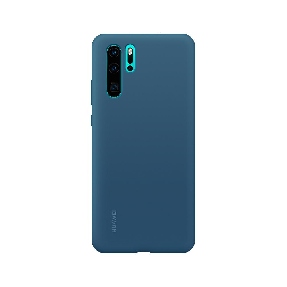 HUAWEI P30 Pro Silicone tok, kék