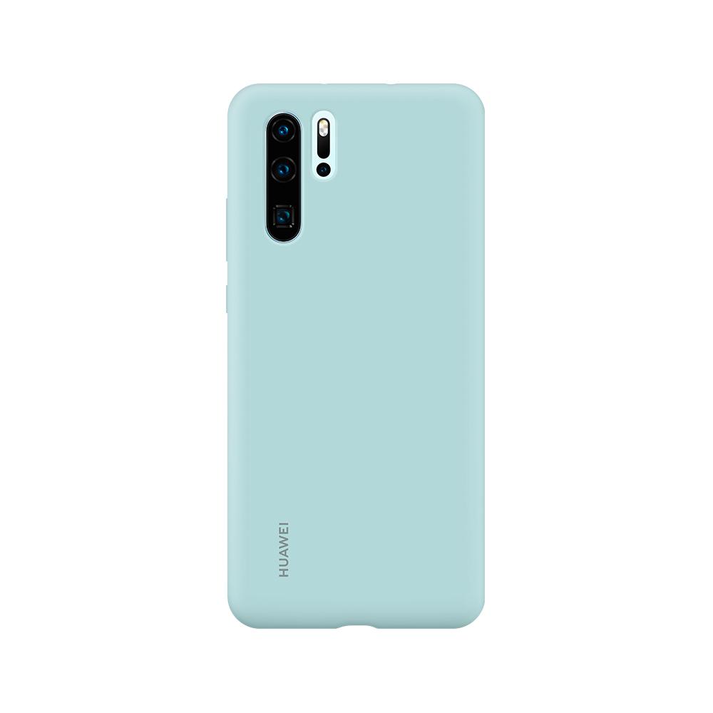 HUAWEI P30 Pro Silicone tok, világos kék