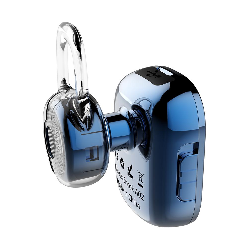 Baseus vezeték nélküli fülhallgató Encok Mini A02 kék