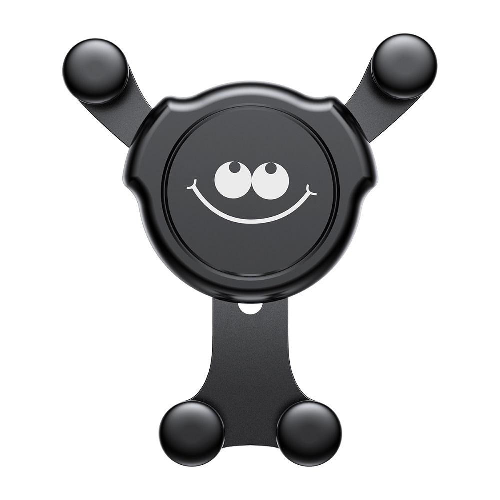 Baseus Emoticon1 autós telefontartó, fekete