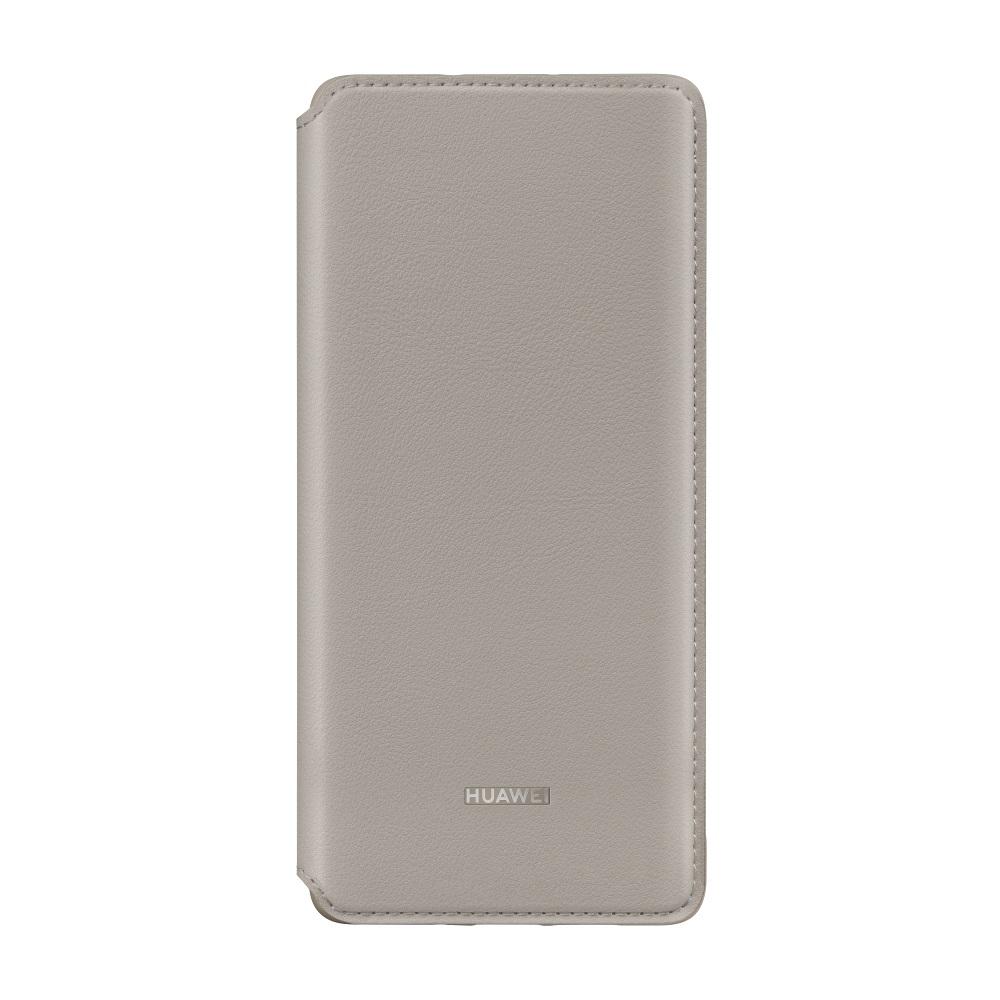 HUAWEI P30 Pro Wallet tok. khaki