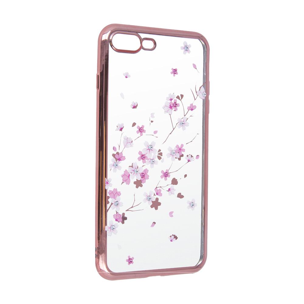 Samsung A70 Flower tok rózsaarany