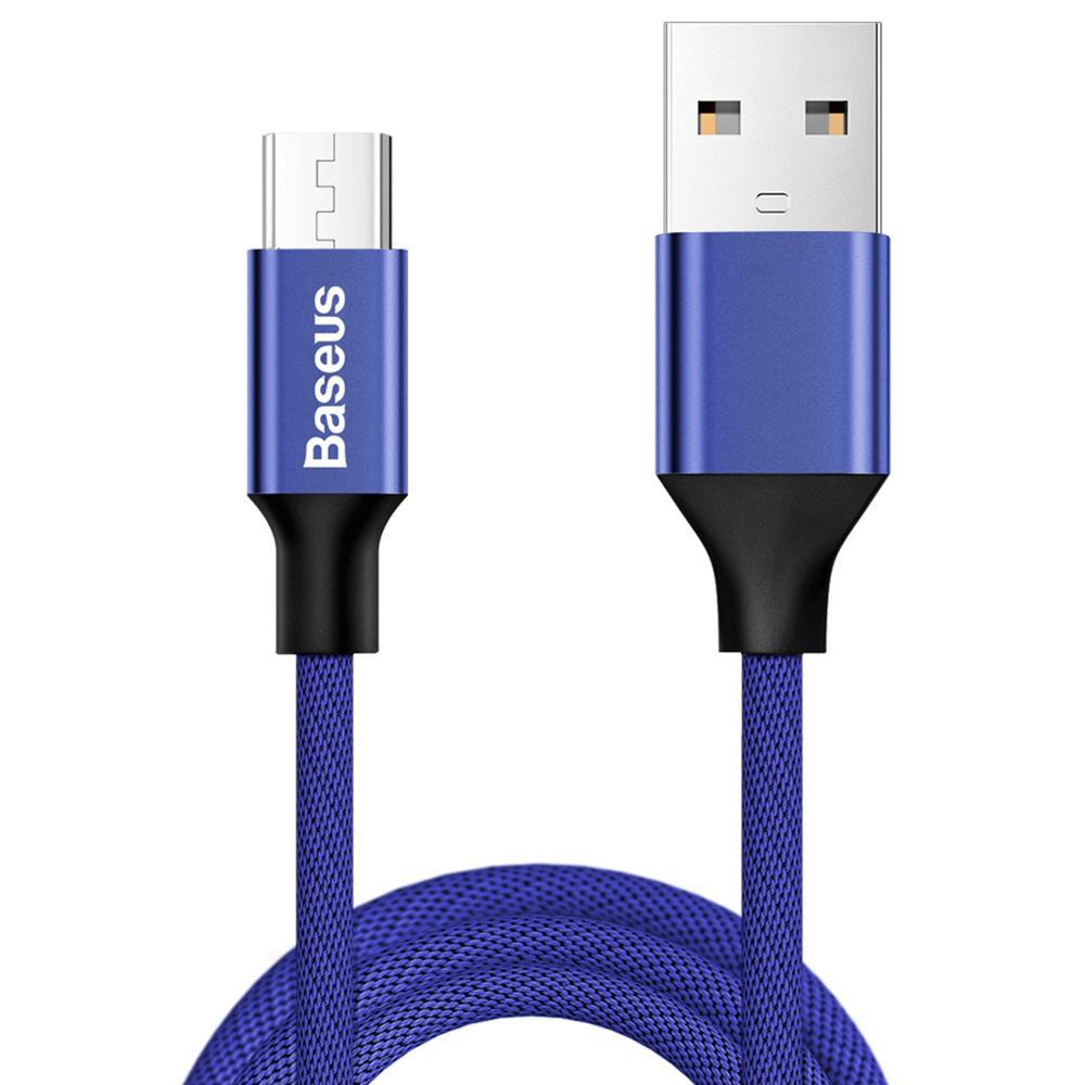 Baseus Yiven kábel (micro-USB | 1 m) 2A, kék (CAMYW-A13)
