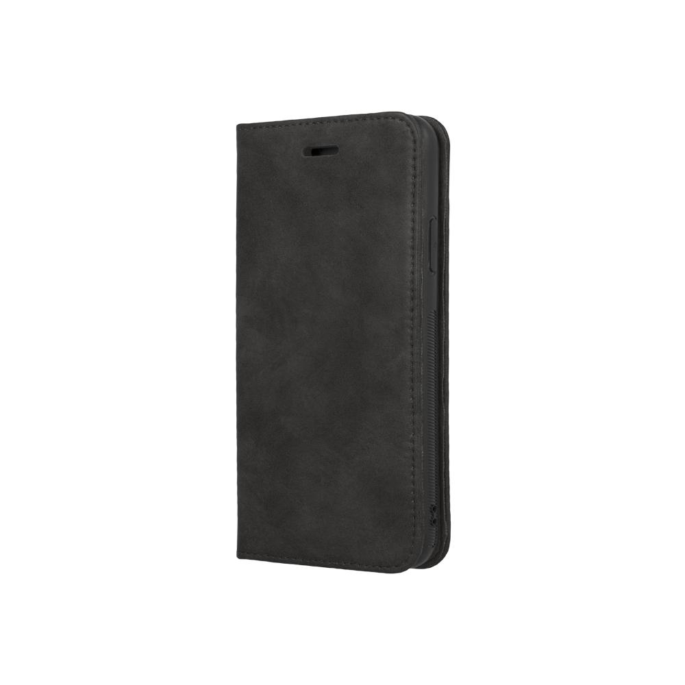 Huawei P20 Forever 2 az 1 be bőr tok fekete