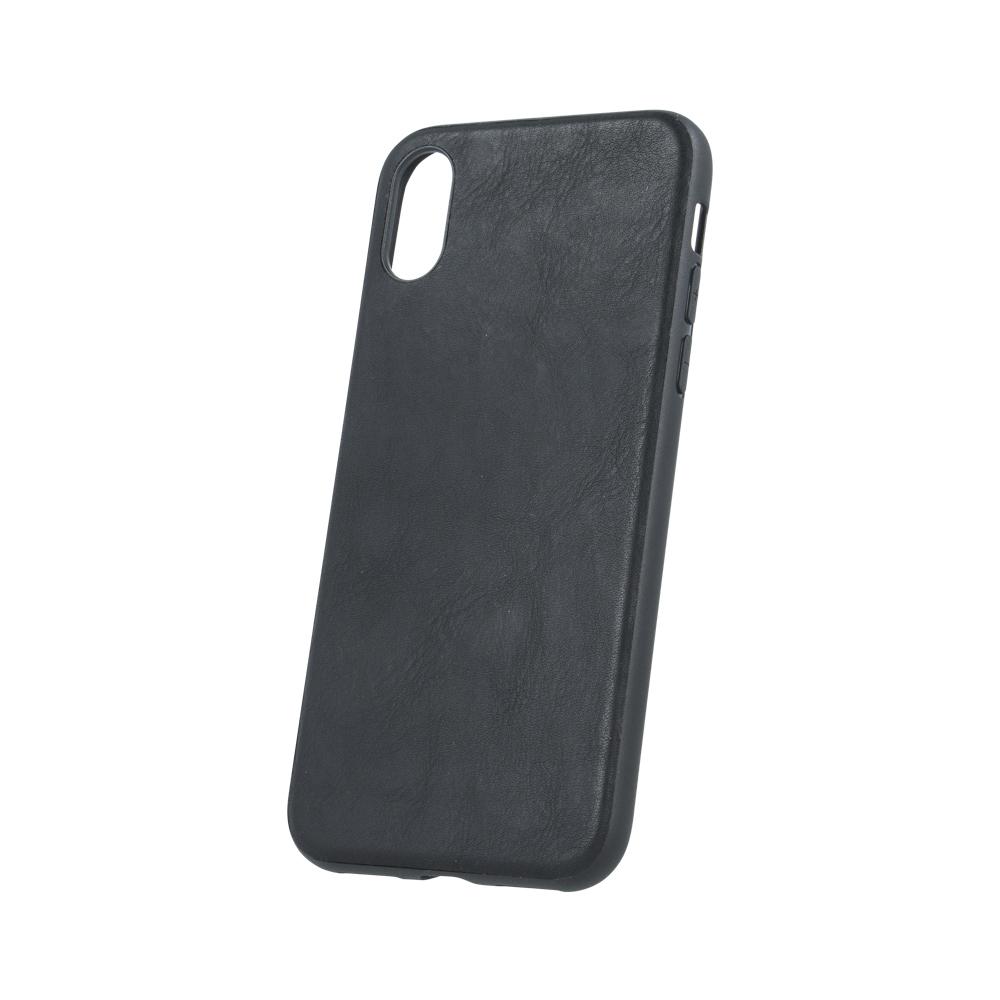 Huawei P20 Forever bőr tok fekete