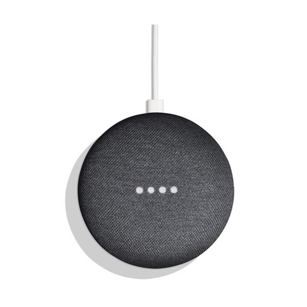 Google vezeték nélküli hangszóró Home Mini fekete US + átalakító