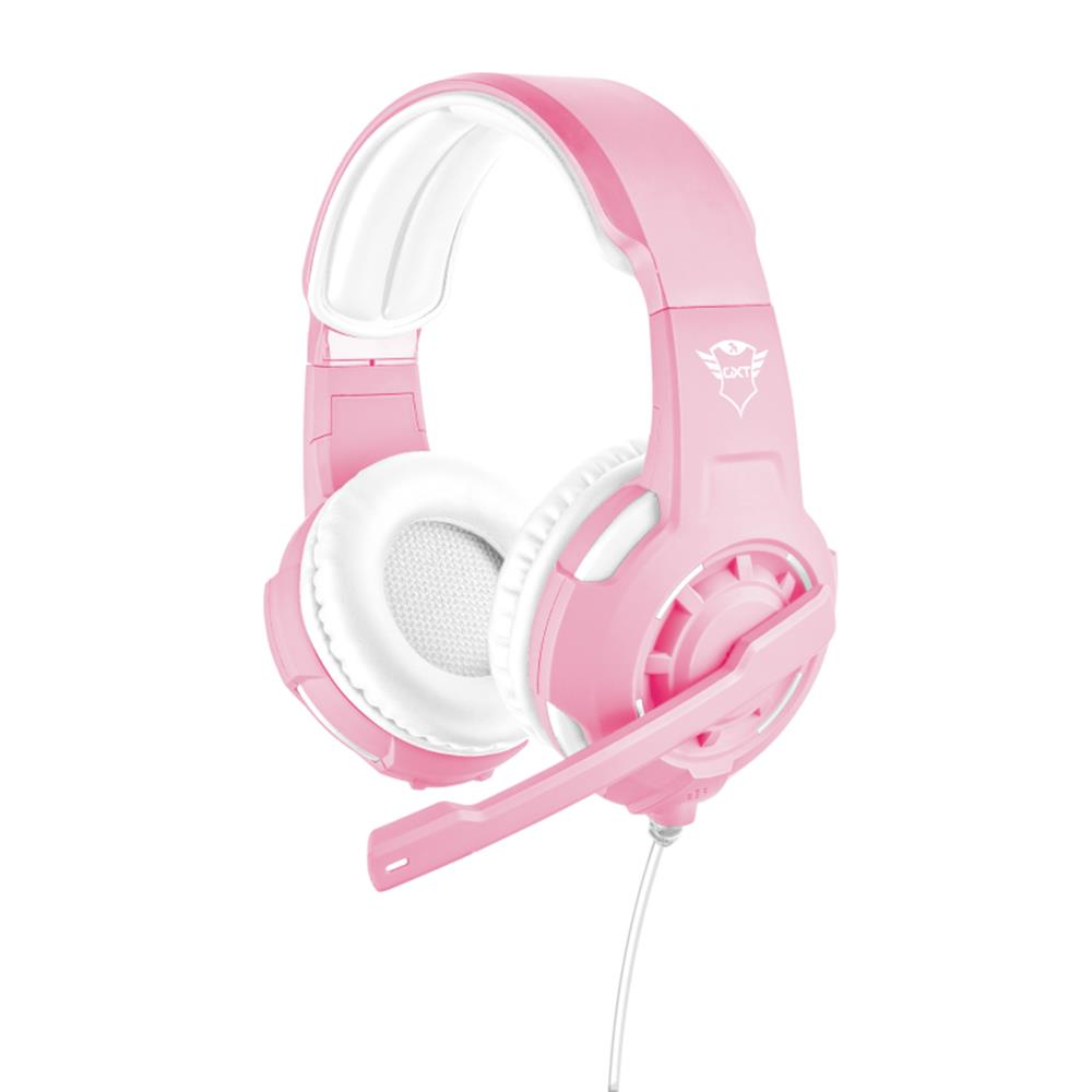 Trust GXT 310P Radius vezeték nélküli gamer headset rózsaszín