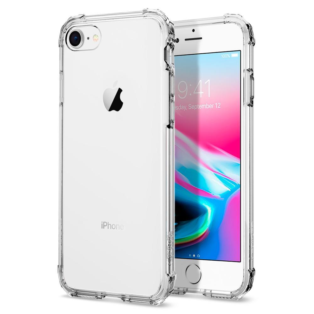 Spigen Crystal Shell tok iPhone 7/ iPhone 8 átlátszó
