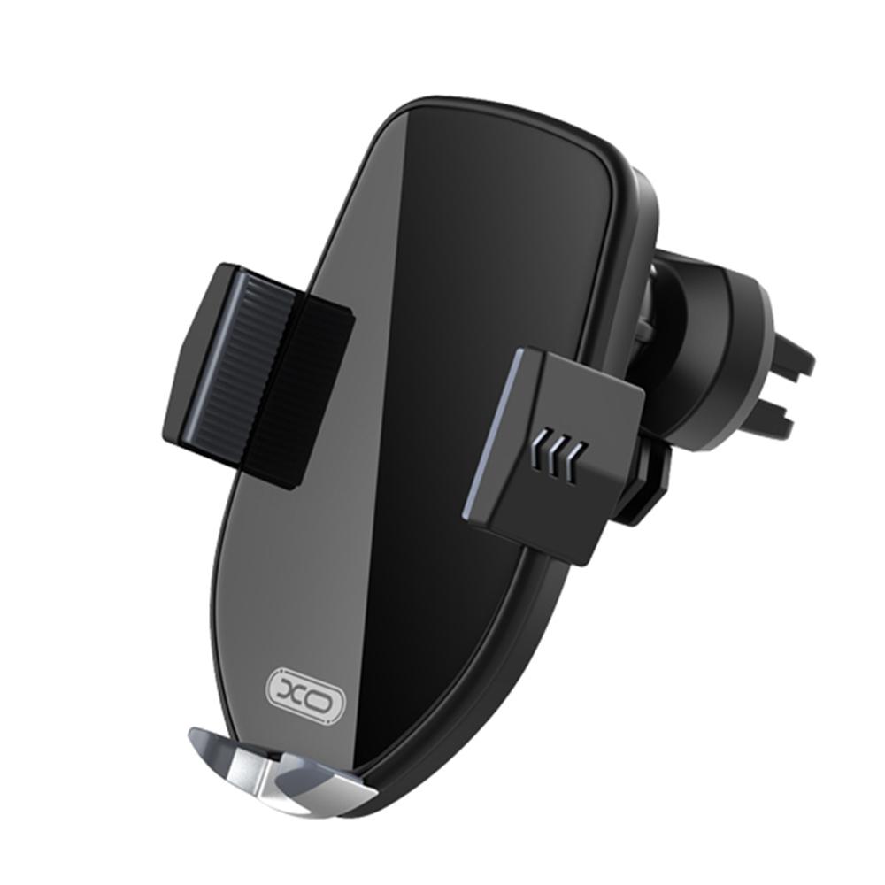 XO autós telefontartó és vezeték nélküli töltő WX011 fekete 10W