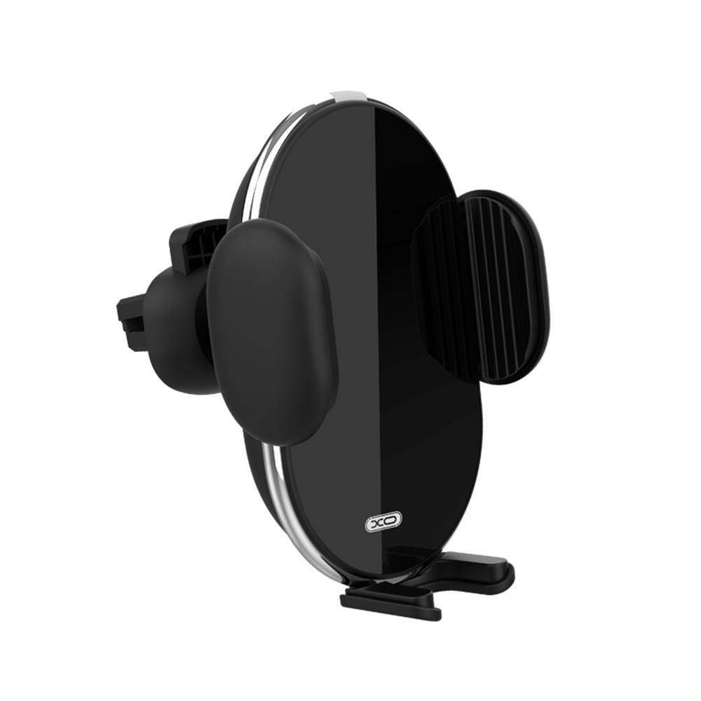 XO autós telefontartó és vezeték nélküli töltő WX013 fekete 10W