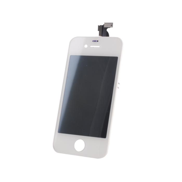 iPhone 4G LCD kijelző + érintőpanel, fehér komplett készlet, magas minőség