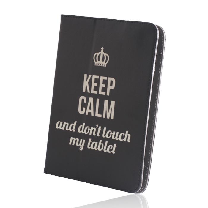 GreenGo Keep Calm univerzális tablet tok 9-10``