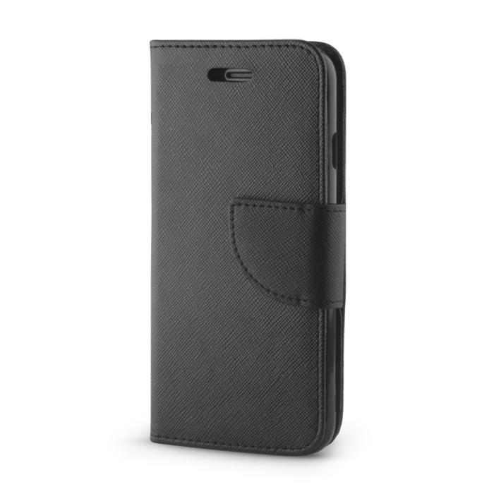 Huawei Mate 10 Lite okos díszes tok fekete