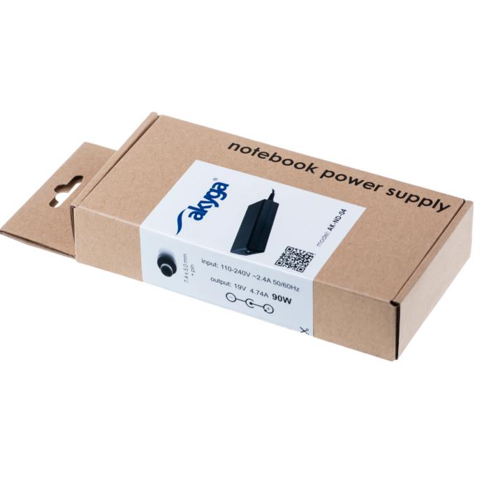 Akyga tápegység HP laptopokhoz  AK-ND-04