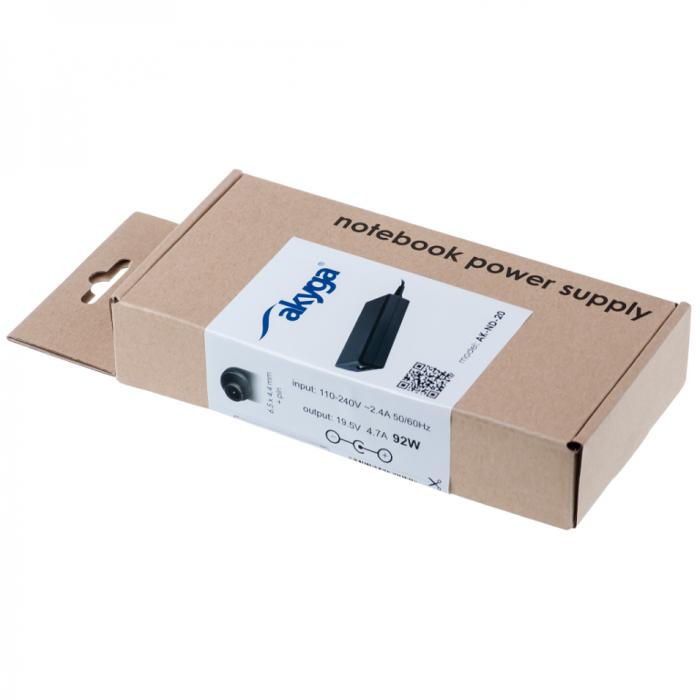 Akyga tápegység laptopokhoz AK-ND-20