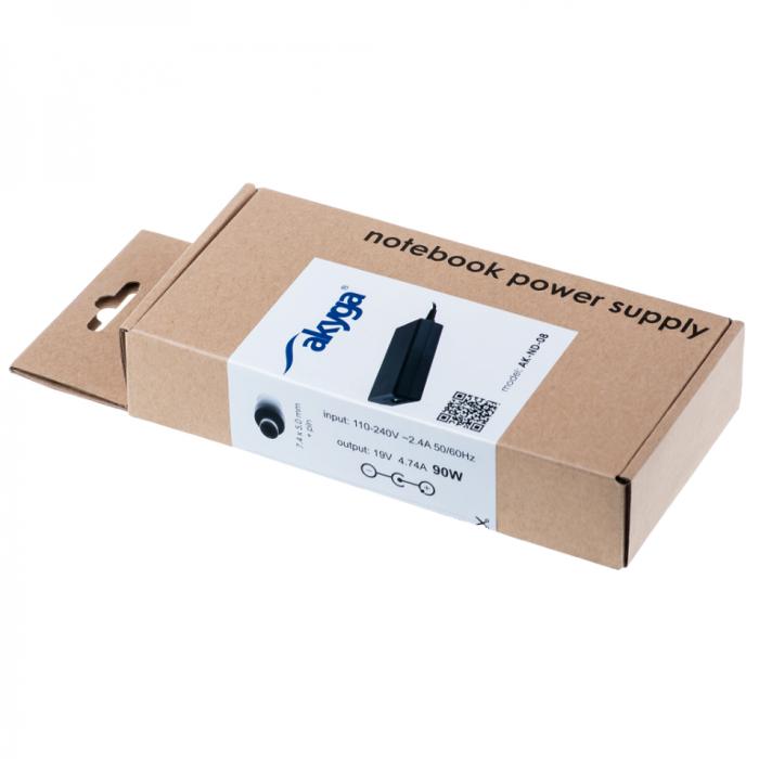 Akyga tápegység HP laptopokhoz AK-ND-08