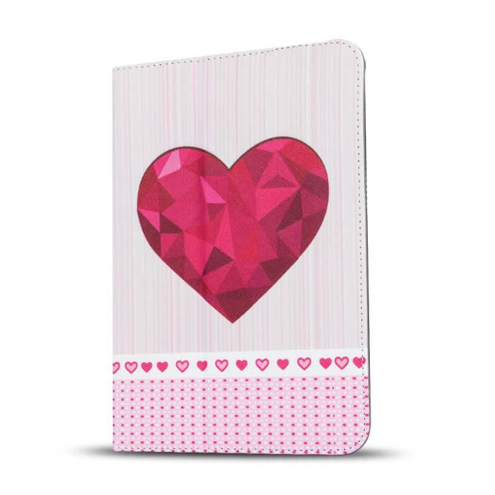 GreenGo Heart univerzális tablet tok 9-10``