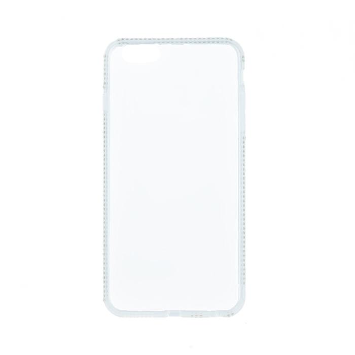 Beeyo Kristály keretű tok Samsung A3 2017 (A320) fehér