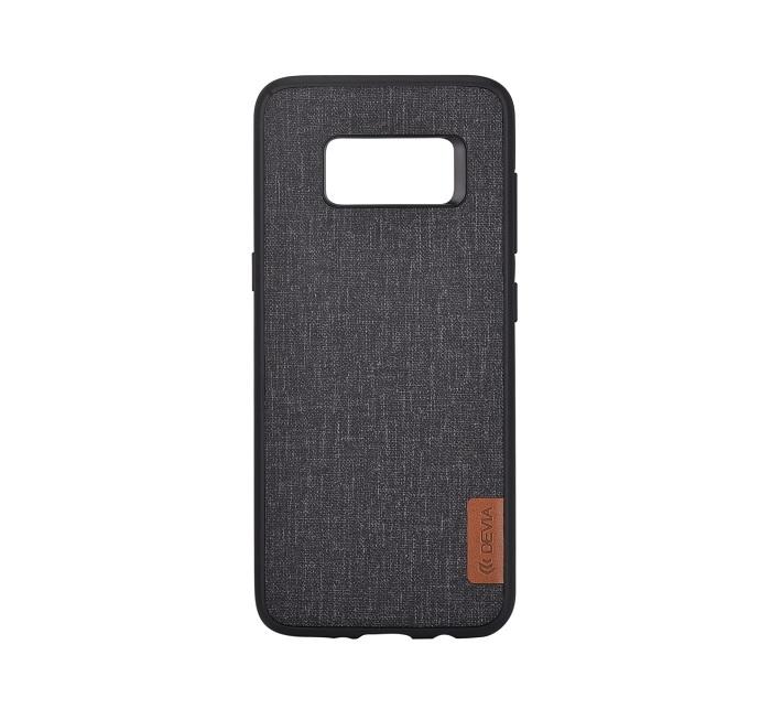 DEVIA Flax tok Samsung S8 PLUS, fekete