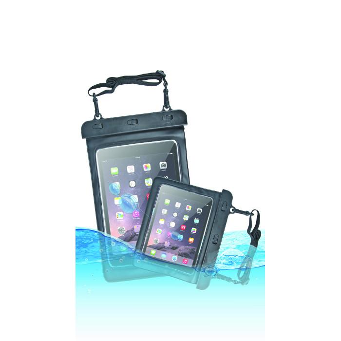 OEM vízálló tablet tok váll pánttal 9-10` fekete 280x210mm