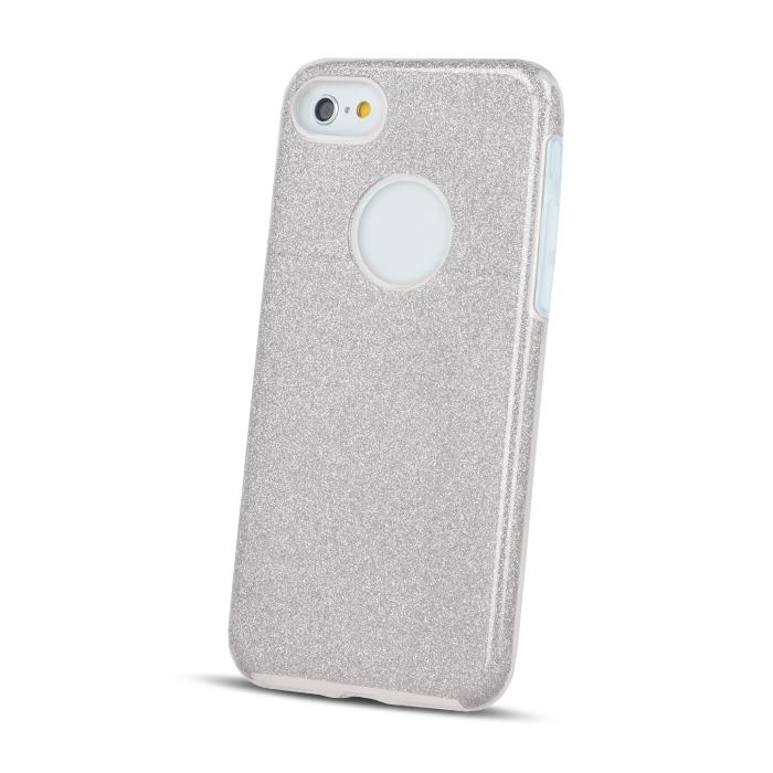 LG K10 2017 csillámos 3in1 tok szürke