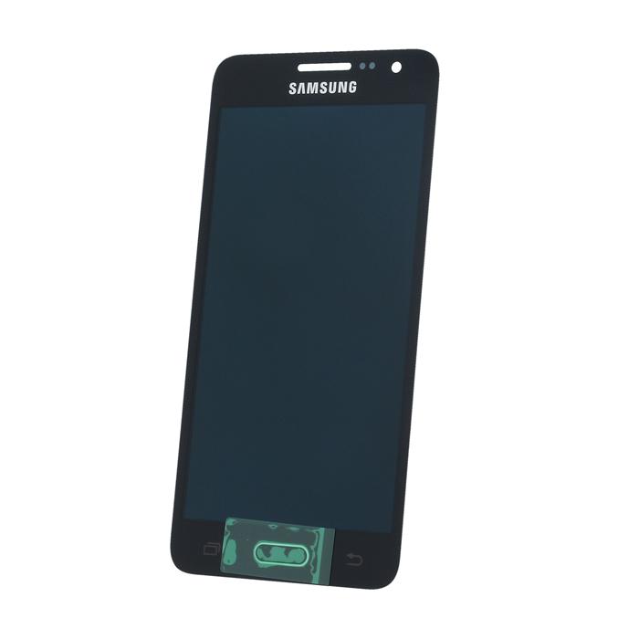 Samsung A3 SM-A300f eredeti LCD kijelző fekete GH97-16747B