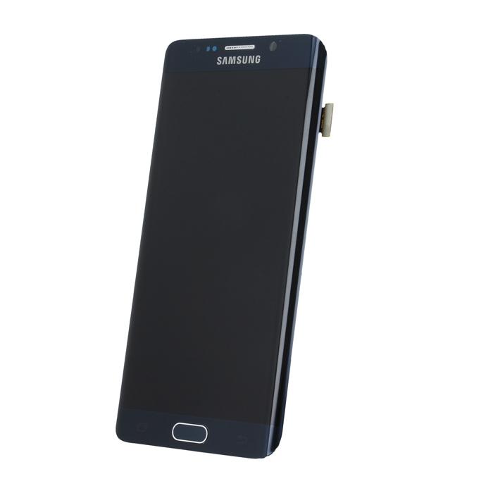 Samsung S6 Edge Plus G928 SM-G928f eredeti LCD kijelző, fekete GH97-17819B