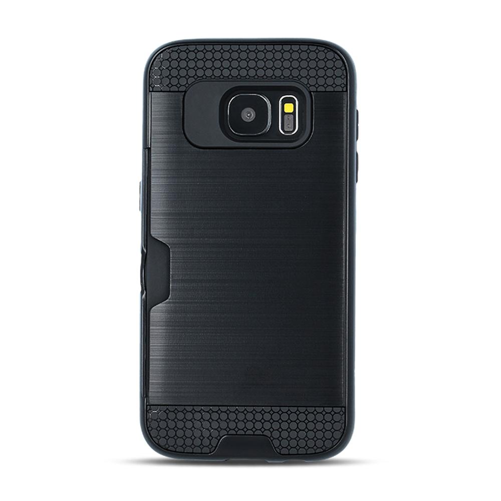 Samsung S10 Plus Defender Card tok fekete