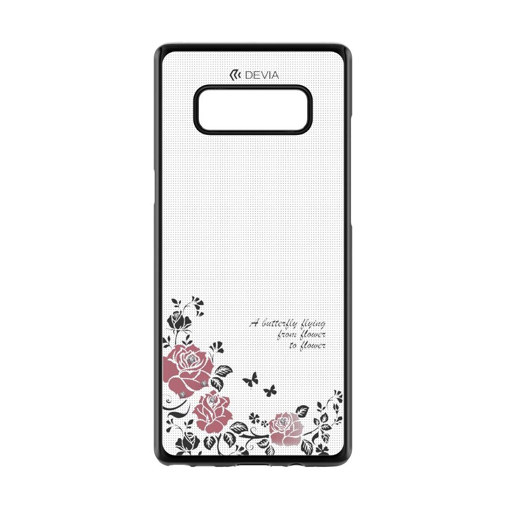 DEVIA Joyous tok Samsung Note 8, fekete