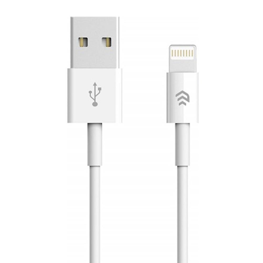 DEVIA kábel iPhone iOS 7/8/9/10/11 (8-tűs /1m) fehér