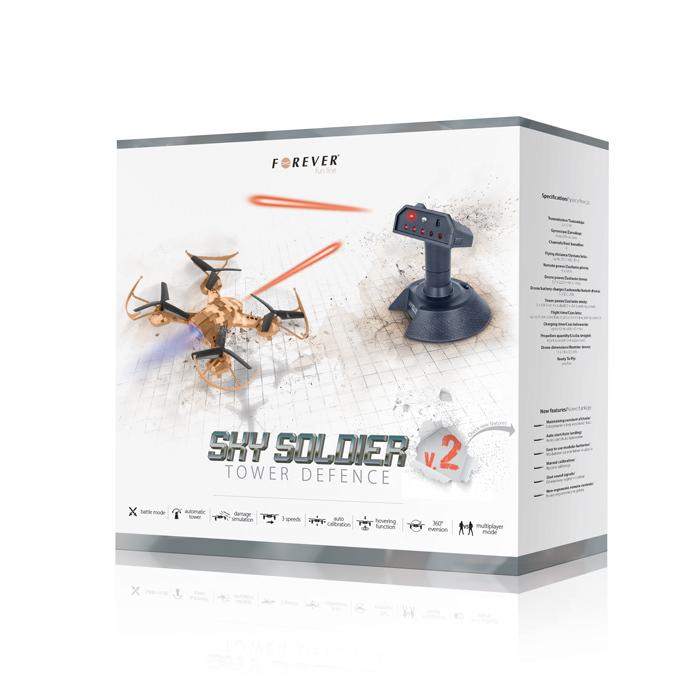 Forever Sky Soldier Drón Tower Defence V2