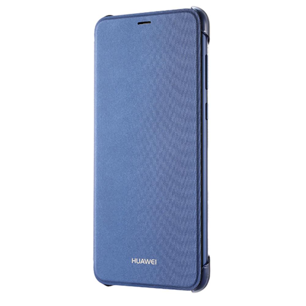 Huawei P Smart gyári oldalra nyíló flip tok, égszínkék