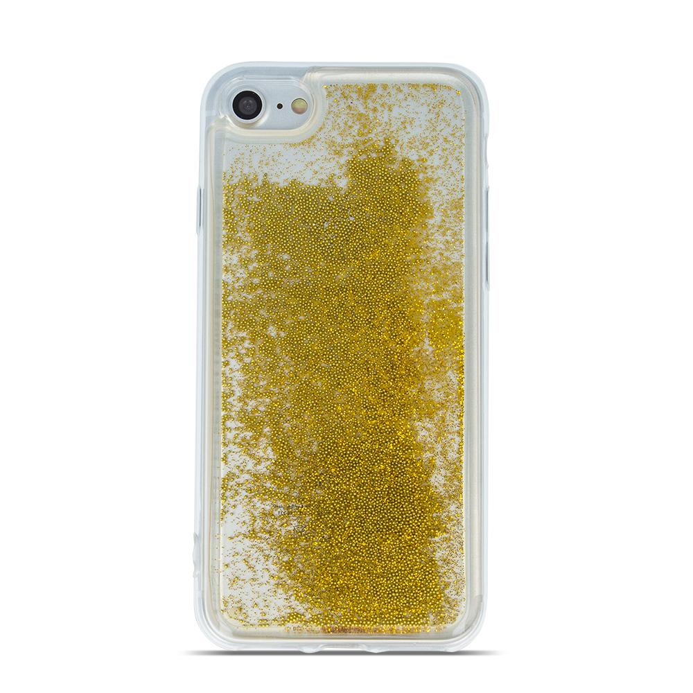 Huawei Mate 10 Lite folyékony csillámos TPU tok3 arany