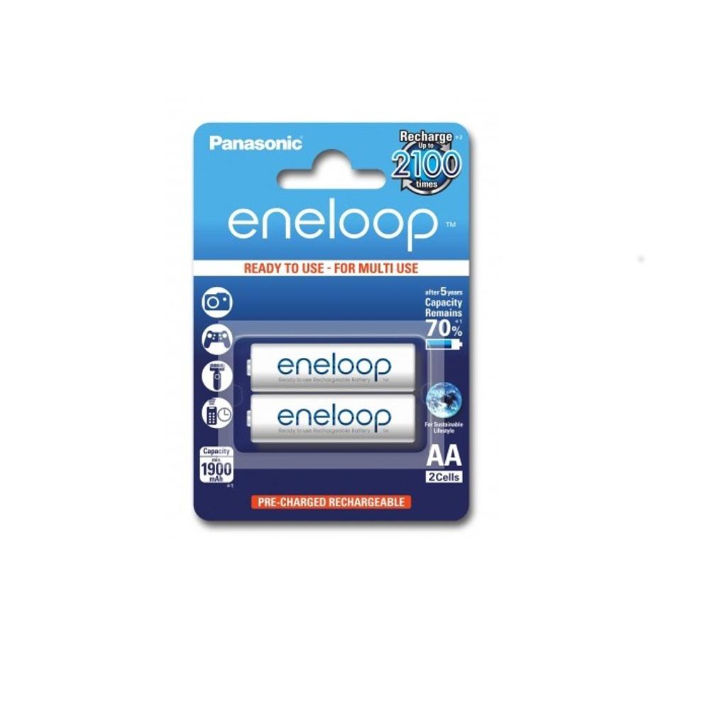 Panasonic R6 Eneloop akkumulátor AA 1900mAh szett 2db