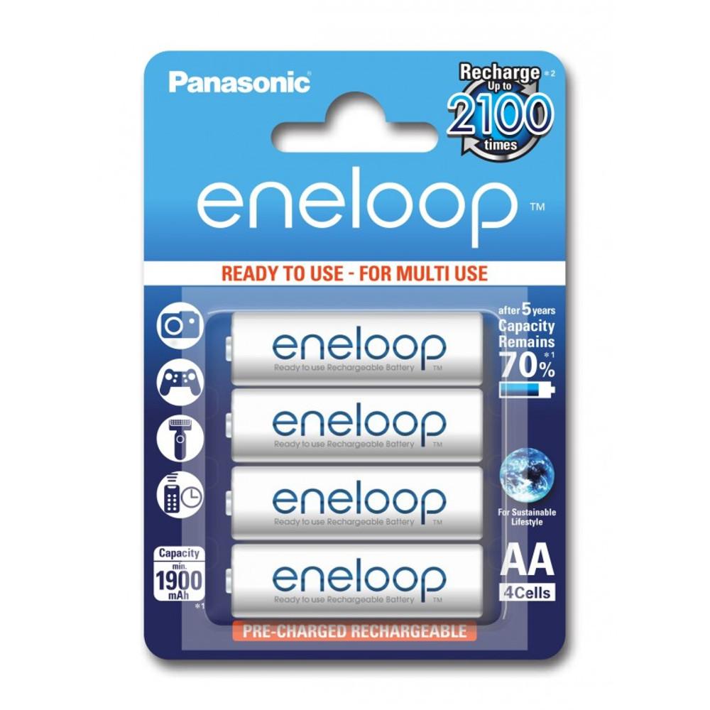 Panasonic R6 Eneloop akkumulátor AA 1900mAh szett 4db