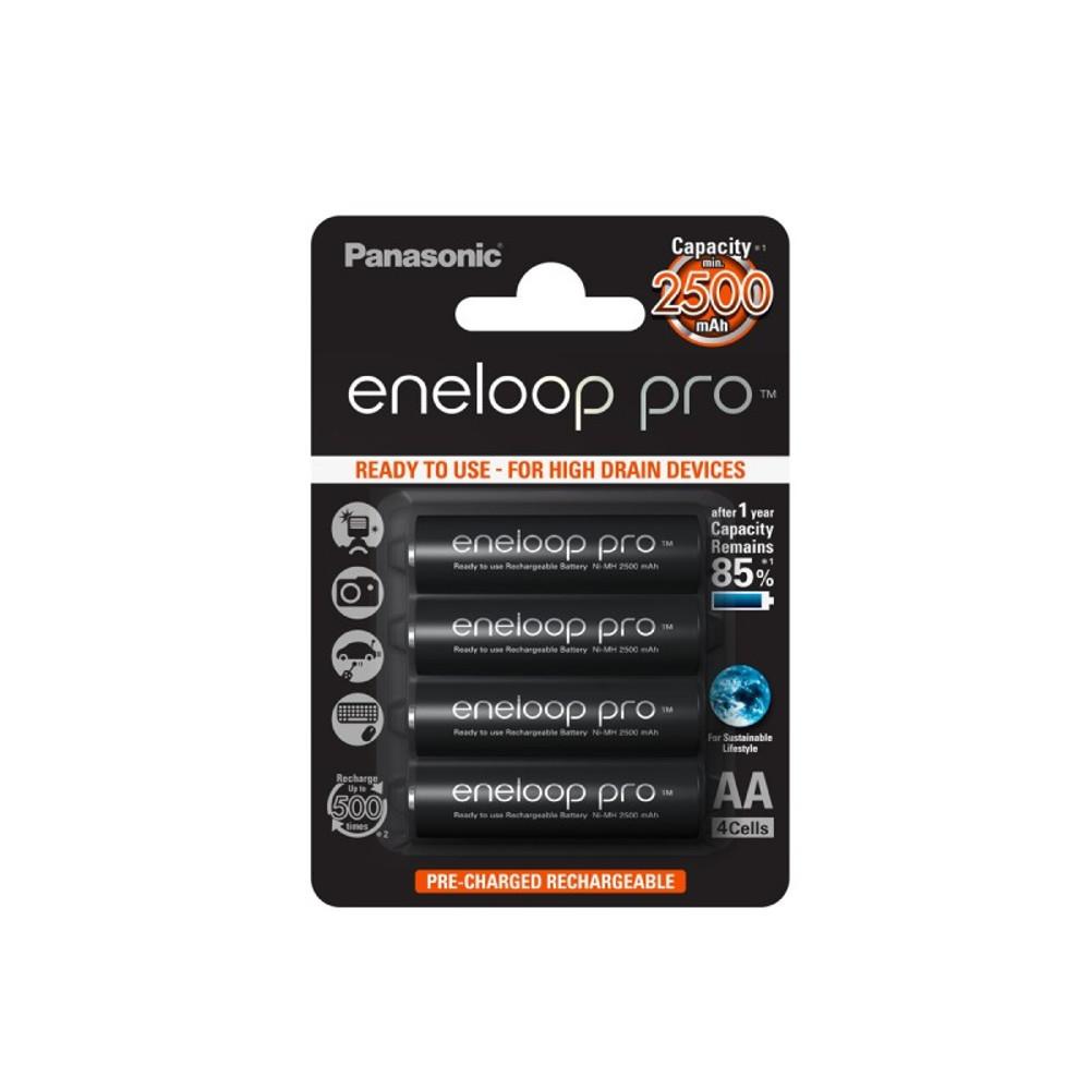Panasonic R6 Eneloop Pro akkumulátor AA 2500mAh szett 4db