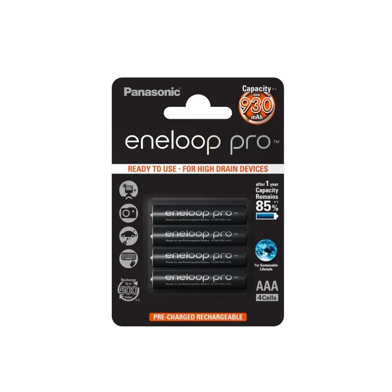 Panasonic R03 Eneloop Pro akkumulátor AAA 930mAh szett 4db