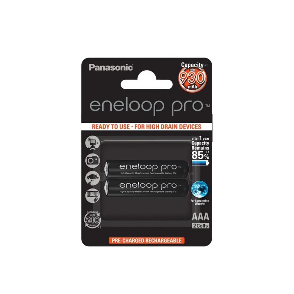 Panasonic R03 Eneloop Pro akkumulátor AAA 930mAh szett 2db