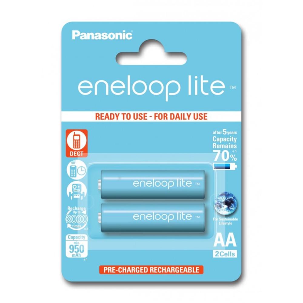 Panasonic R6 Eneloop Lite akkumulátor AA 950mAh szett 2 db
