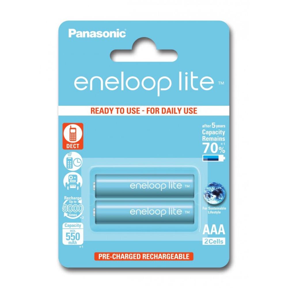 Panasonic R03 Eneloop Lite akkumulátor AAA 550mAh szett 2db