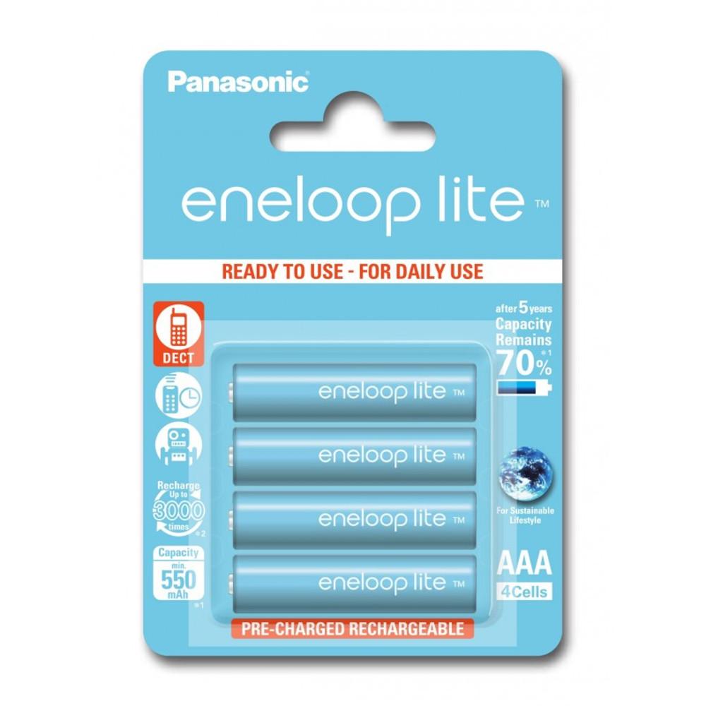Panasonic R03 Eneloop Lite akkumulátor AAA 550mAh szett 4 db