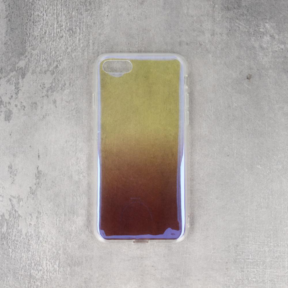 Huawei P Smart színátmenetes TPU tok barna