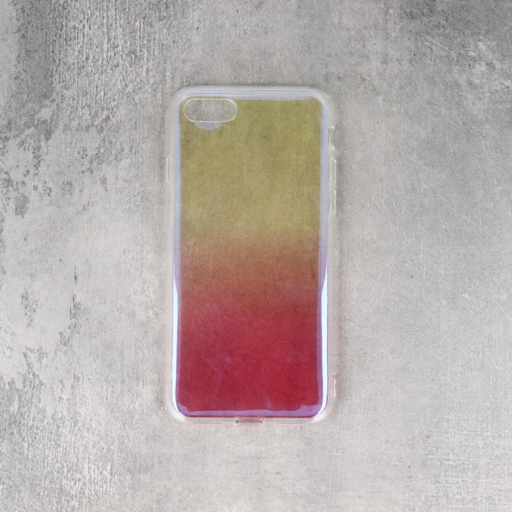 iPhone 7 Plus/ iPhone 8 Plus színátmenetes TPU tok rózsaszín