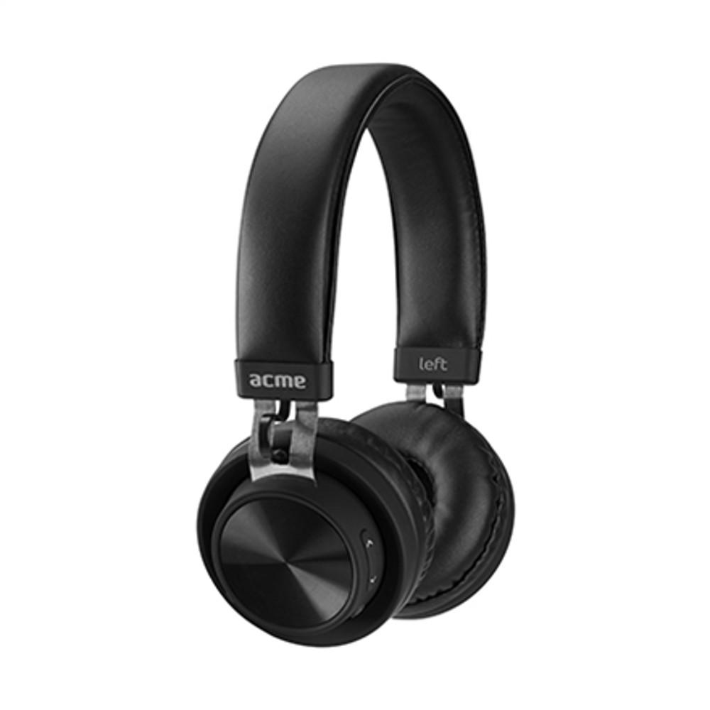 Acme Europe BH203 vezeték nélküli fejhallgató, fekete