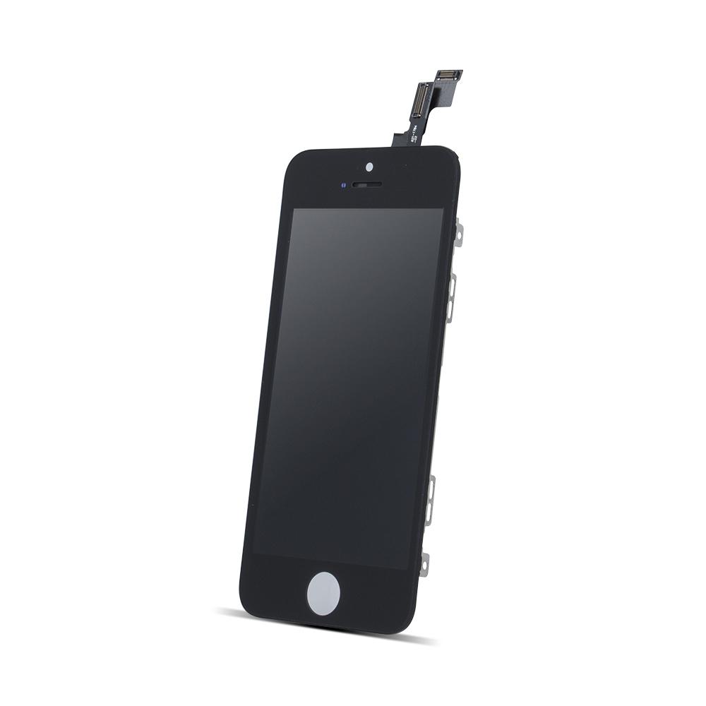 iPhone SE LCD kijelző + érintőpanel, fekete, AAA minőség