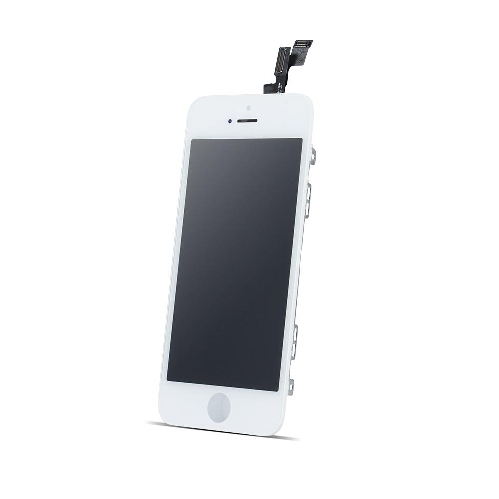 iPhone SE LCD kijelző + érintőpanel, fehér, AAA minőség