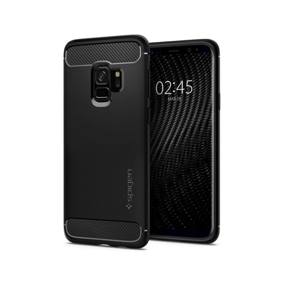 Spigen Rugged Armor tok Samsung S9 fekete