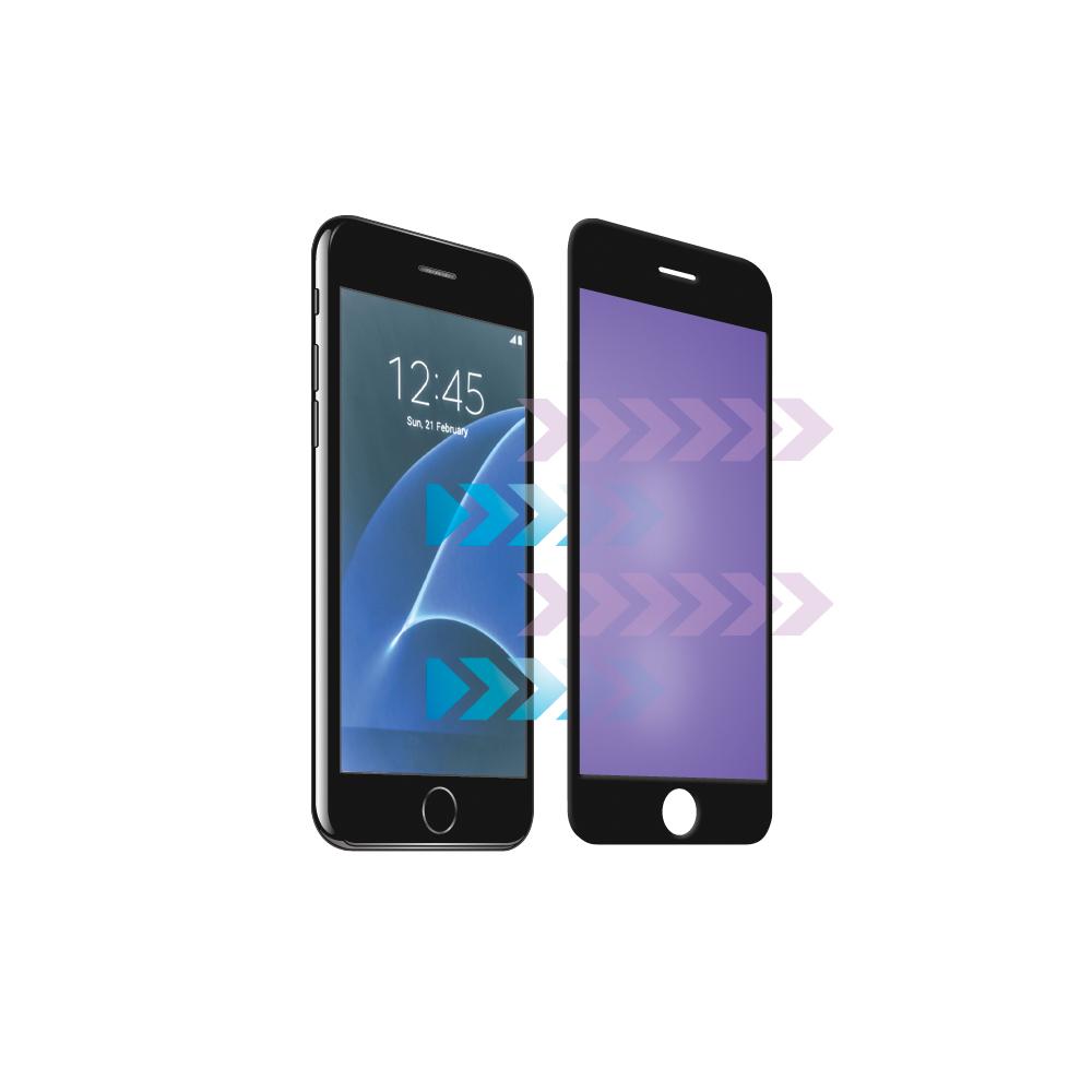 Forever 3D Képernyővédő prémium edzett üveg Samsung S8 Plus anti-kék fekete